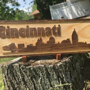 Cincinnati Skyline Sign