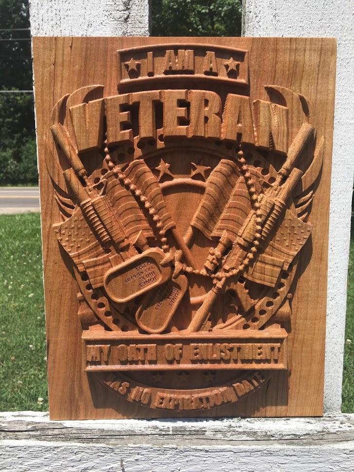Veterans Sign