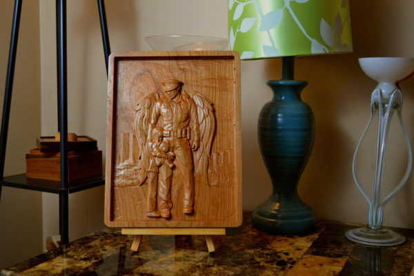 Personalized Police Officer Wooden Sign