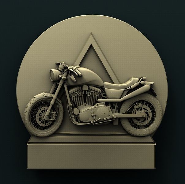 0406. Motorcycle