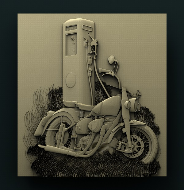 0576. Gas Station Motorcycle