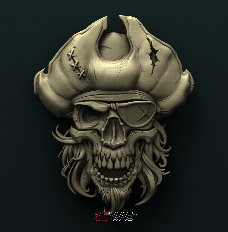 0678. Pirate Skull