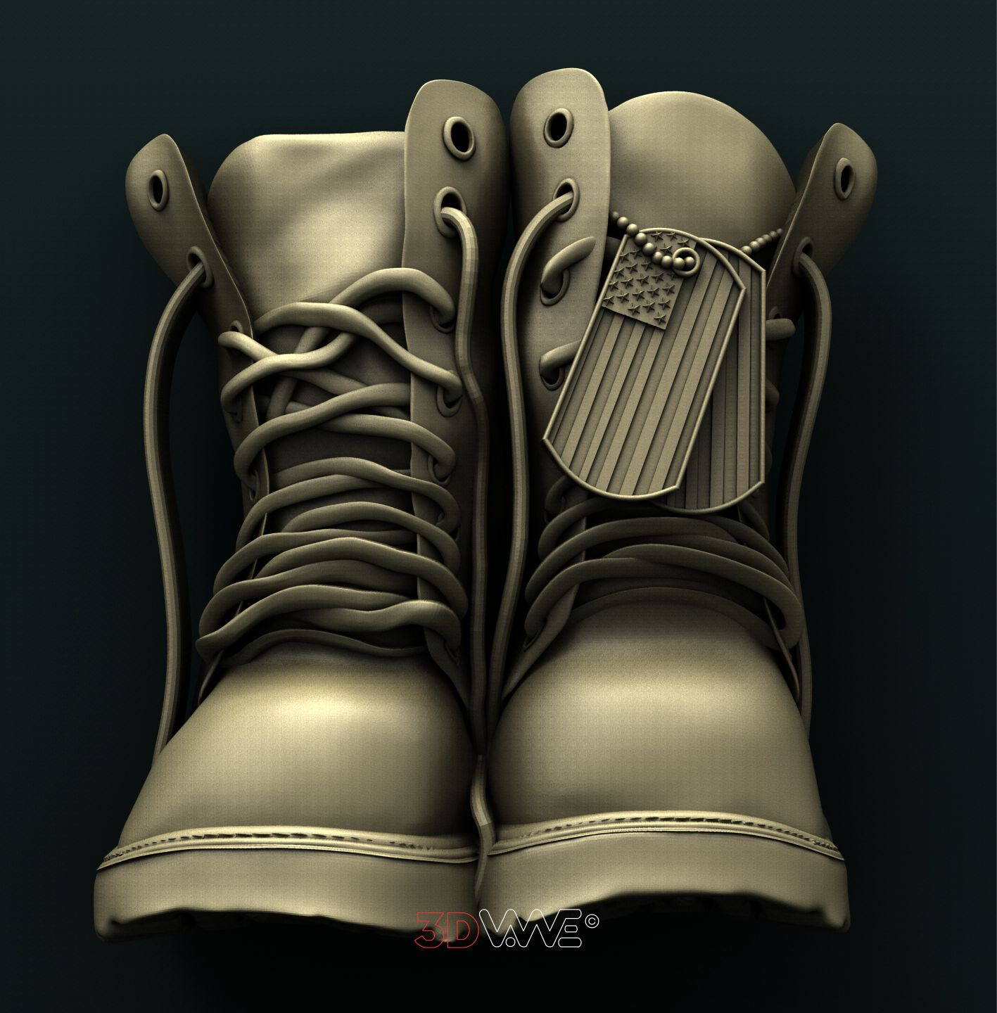 0869 Military Boots