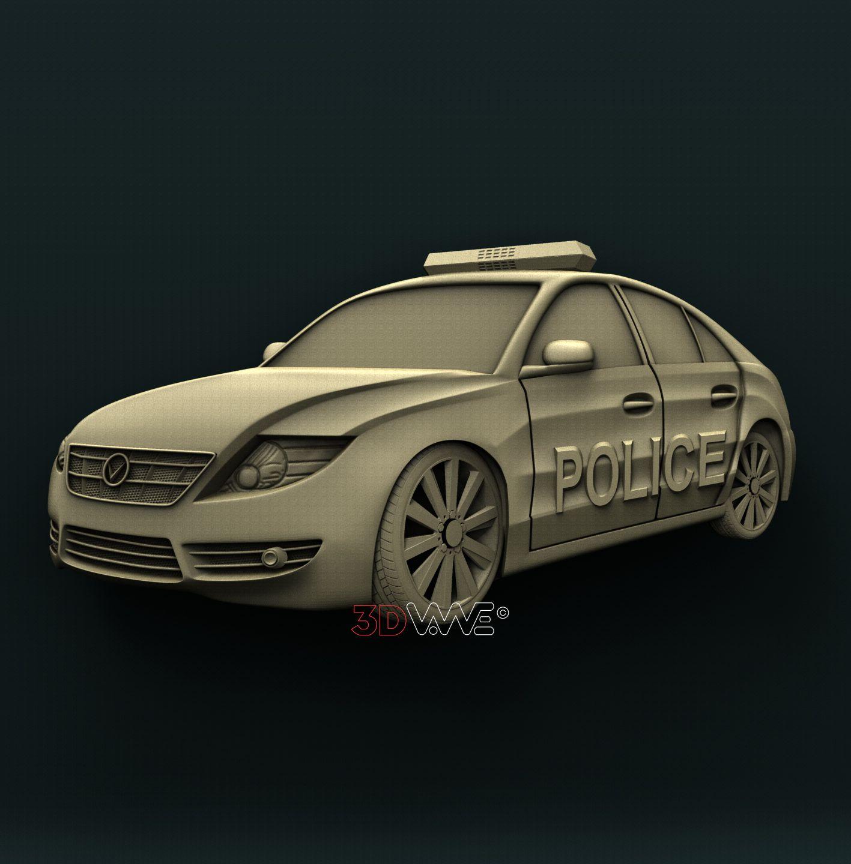0901 Police Car